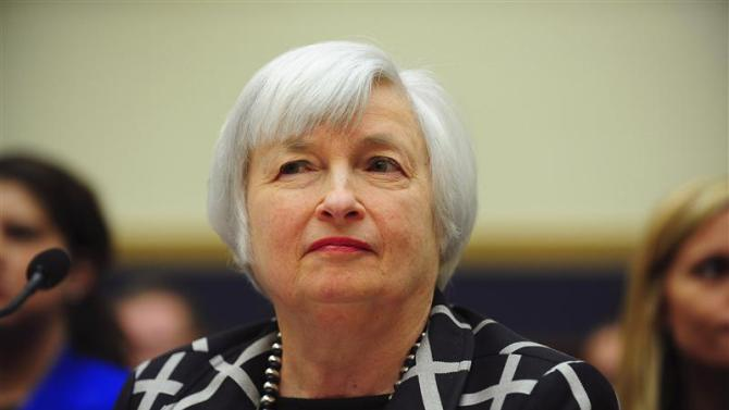"Federal Reserve Chair Yellen testifies before a House Financial Services Committee hearing on ""Monetary Policy and the State of the Economy."" in Washington"