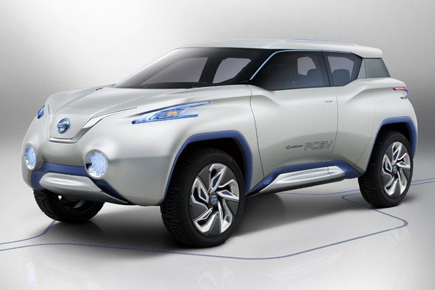Nissan unveils all-electric TeRRA SUV