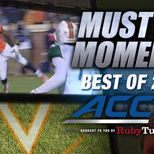UVA's Canaan Severin Makes Unreal TD Grab | Best of 2014 Must See Moment