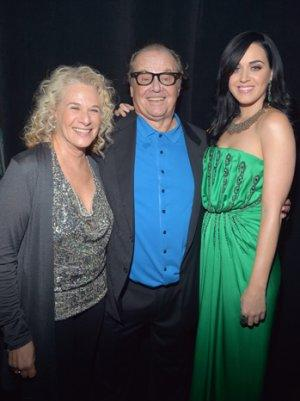 Carole King, Jack Nicholson, Katy Perry and Friends Rock Out for the Kids