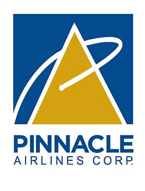 FILE - This undated file photo provided by Pinnacle Airlines Corp., shows the logo for Pinnacle Airlines Corp., based in Memphis, Tenn. Pinnacle Airlines says it's filed for bankruptcy protection in order to deal with its mounting debt and costs, The Associated Press reports Monday, April 2, 2012. The Memphis, Tenn.-based airline operates regional flights as Delta Connection, United Express and US Airways Express. It says its current business model isn't sustainable. (AP Photo/Pinnacle Airlines Corp. via PRNewsFoto, File)