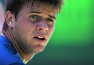 US seventh seed Donald Young crashed out in the first round of the ATP Hall of Fame Championships while American sixth seed Ryan Harrison (pictured in March) barely avoided an early ouster as well