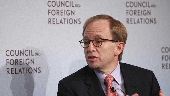 Steven Rattner, Former Head of U.S. Treasury Department's Auto Task Force, speaks at the Council on Foreign Relations in New York
