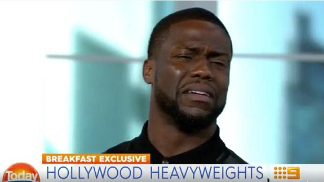 Australian reptiles send Kevin Hart into meltdown, Ice Cube doesn't even care
