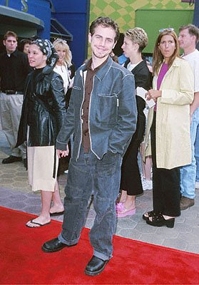 Rider Strong , star of My Giant , at the Universal Studios Cinema premiere of Universal's The Flintstones In Viva Rock Vegas in Los Angeles