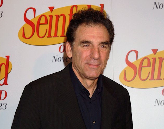 "FILE - This Nov. 17, 2004 file photo shows actor-comedian Michael Richards at the release of the first three seasons of the ""Seinfeld"" on DVD in New York. TV Land says it has cast Richards in a pilot"
