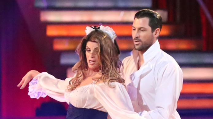 Kirstie Alley and Maksim Chmerkovskiy (11/5/12)