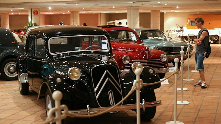Prince Albert's Car Collection