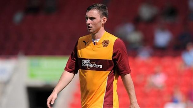 Bob McHugh has netted eight times for Motherwell