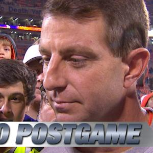 Clemson's Dabo Swinney Talks Win Over Georgia State