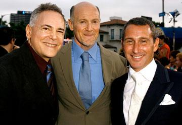 Producers Craig Zadan and Neil Meron with director Adam Shankman at the Los Angeles premiere of New Line Cinema's Hairspray