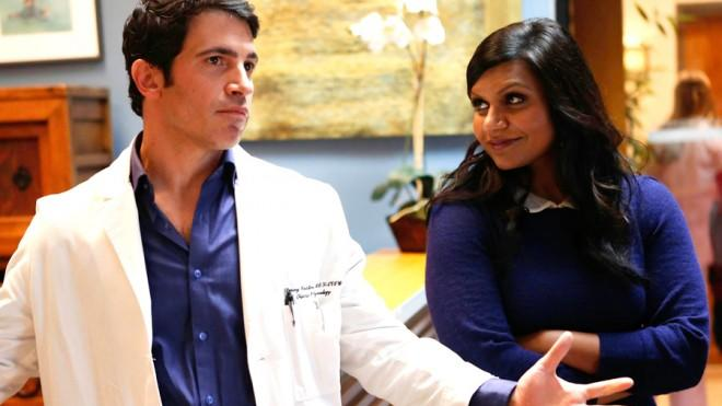 Mindy Kaling and Chris Messina: Mary Tyler Moore's Mary and Lou of today.
