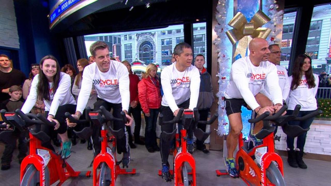 Cycle for Survival Raises Money for Cancer Research