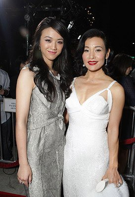 Tang Wei and Joan Chen at the Los Angeles premiere of Focus Features' Lust, Caution