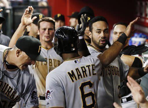 Pirates beat D-backs 6-5 for first winning streak