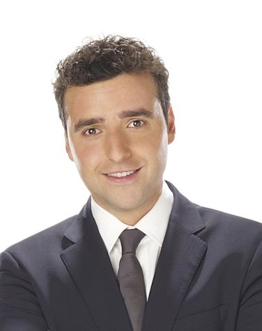 David Krumholtz from CBS comedy 'Partners' -- CBS
