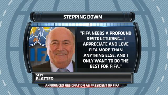 Gottlieb: Alexi Lalas on Sepp Blatter stepping down
