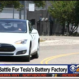 California Is Among 5 States Bidding For $5 Billion Tesla Motors Battery Factory