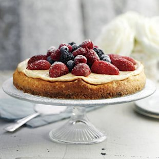 Baked Vanilla Cheesecake: Recipe