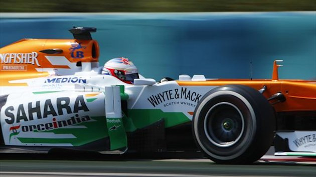 Force India driver Paul di Resta