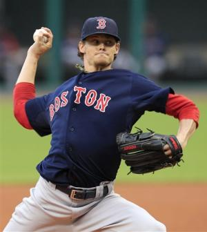 Boston's Buchholz tosses 2-hitter, beats Indians