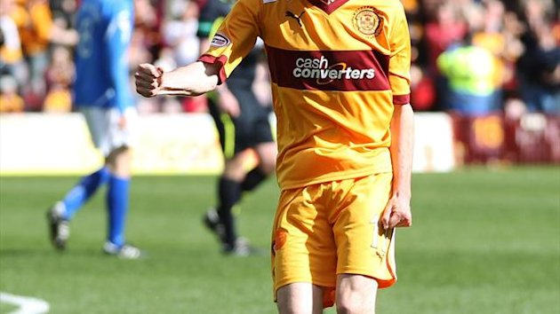 Jamie Murphy joined Sheffield United from SPL outfit Motherwell last week