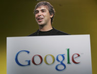 FILE - In this June 12, 2007 file photo, Google co-founder Larry Page smiles at a news conference held at Google headquarters in Mountain View, Calif. When he replaced his mentor Eric Schmidt as Google's CEO last April, Page insisted that the company had to be more aggressive about countering the threat posed by Facebook's ever-growing popularity. Page responded with a social networking crusade that is still reshaping Google Inc. as he marks his one-year anniversary as chief executive on Wednesday, April 3, 2012. (AP Photo/Paul Sakuma, file)