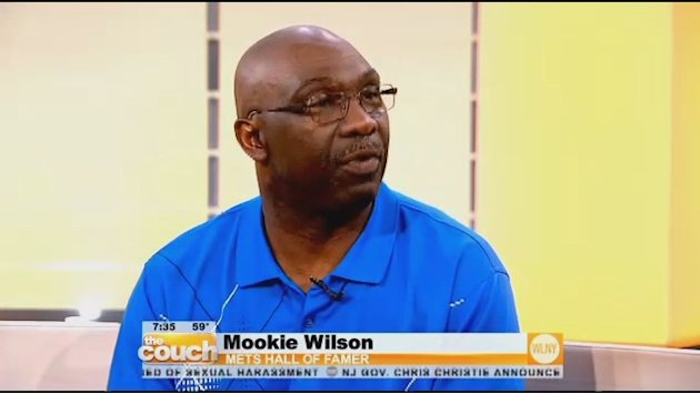 Mets Hall Of Famer Mookie Wilson On The Couch