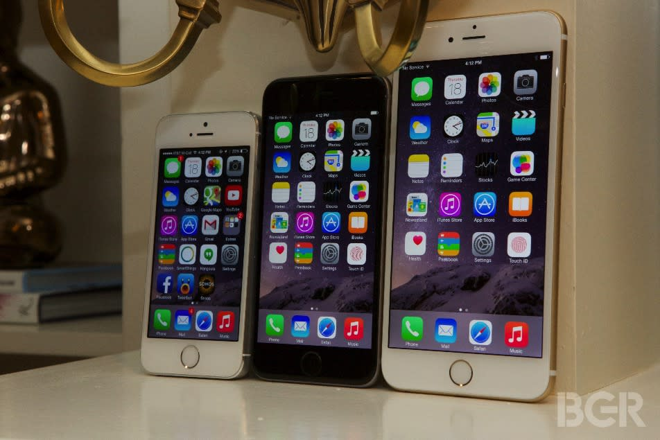 iPhone 6s launch: These are the 5 iPhones Apple will be selling in September