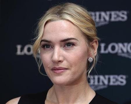 British actress Kate Winslet marries for third time
