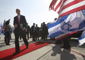 U.S. Secretary of State John Kerry walks to his plane …