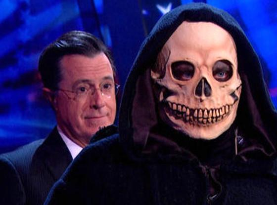 Stephen Colbert Immortalized In Final Episode Of 'The Colbert Report' – Video
