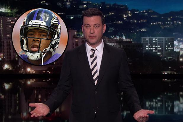 Jimmy Kimmel Celebrates NFL's Milestone Month Without Any Active Players Arrested