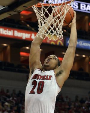 Louisville shoots impressively in first scrimmage
