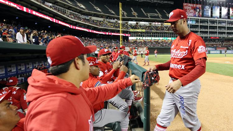 MLB: Exhibition-Mexico City at Texas Rangers
