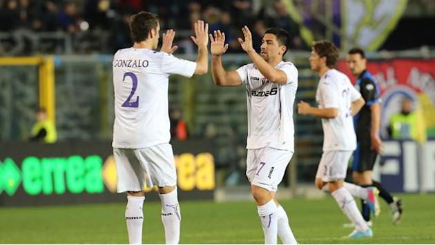 Italian Serie A - Fiorentina strike twice in second half to bury Atalanta
