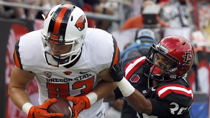 Oregon State beats San Diego State 34-30