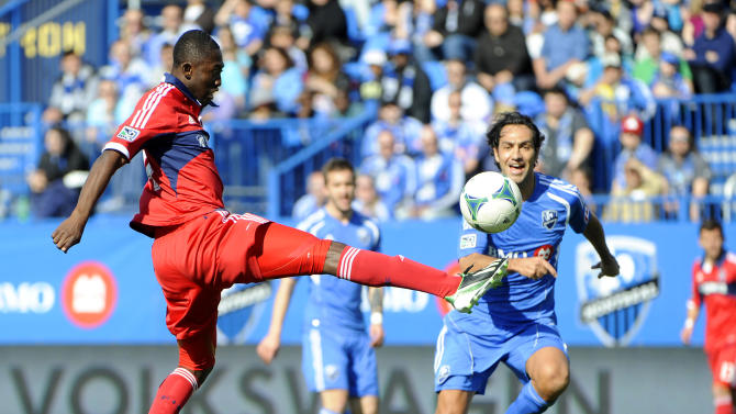 MLS: Chicago Fire at Montreal Impact