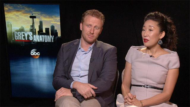 'Grey's Anatomy': Sandra Oh And Kevin McKidd On Sandra's Exit