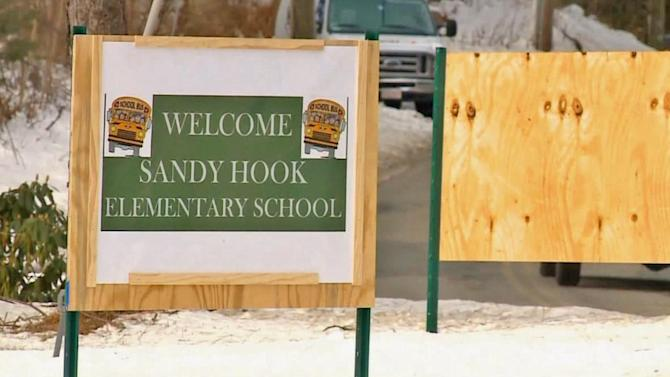 Sandy Hook Elementary students return to class