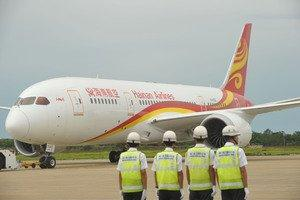 "Hainan Airlines Kicks off Welcoming Ceremony for First 787 Dreamliner and ""Fly Your Dreams"" Program"