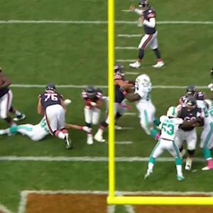 Chicago Bears running back Matt Forte 1-yard touchdown run