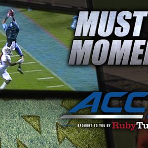UNC's Marquise Williams Cashes in on 4th Down Prayer | ACC Must See Moment