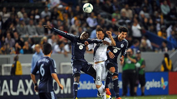 MLS: Sporting KC at Los Angeles Galaxy