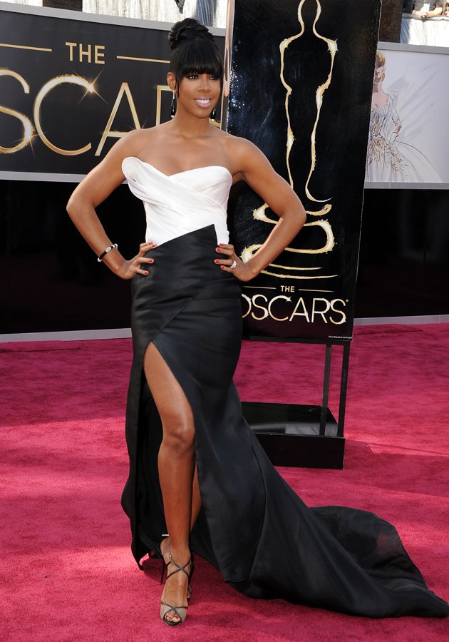 Kelly Rowland opted for a…