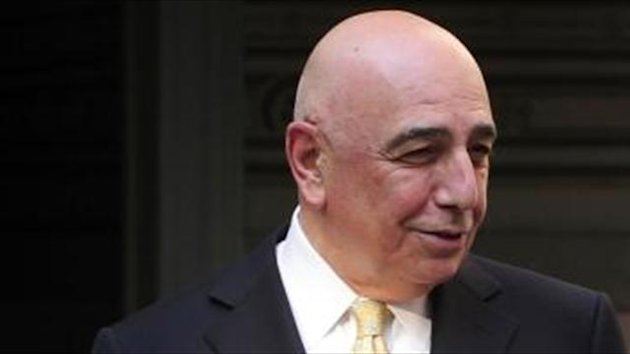 Galliani denies rift with Berlusconi
