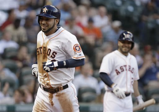 Astros take series with Angels with 3-1 win