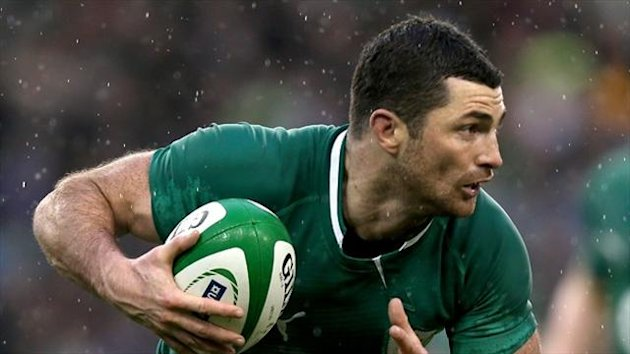 Rob Kearney is looking to make up for lost time now his hamstring injury has cleared up