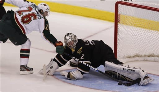 Jamie Benn lifts Stars over Wild 2-1 in shootout