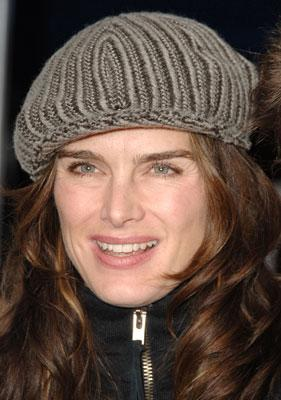 Brooke Shields at the Los Angeles premiere of Columbia's Stranger Than Fiction